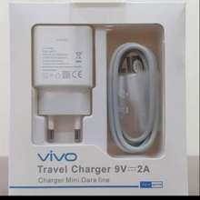 Vivo Charger Carger Casan Tc Y12 Y12S Y13 Y15 Y17 Y19 Y21 Y22 Y31 Y33 Y53 Y91 Y93 Y95 Y91C V5 V7 V9 (Putih, M)