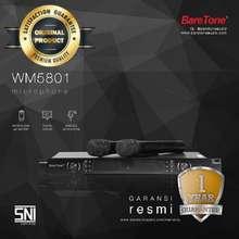 BareTone Mic Wireless Wm5801 2 Mik Pegang Handle