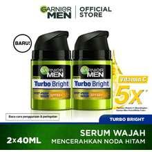 Garnier Men Men Turbo Bright Spotproof Serum Spf50 40Ml Twinpack