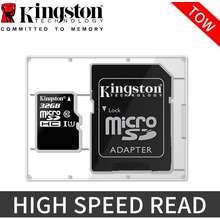 Kingston 32GB Kartu Memori 100MB/S Ultra Microsd SD Micro SDHC Class 10 Memory TF Card