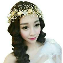 Calvin Klein Mahkota Crown Tiara Wedding Headpiece Hijab App-201/perhiasan/aksesories rambut