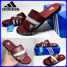 adidas Sandal Pria Nitrocharge 3 0 Sandal Casual Sandal Slop Pria Marun 41