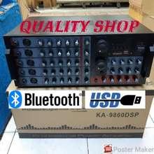 Power power amplifier megavox ka-9950 dsp usb sd plus prosesor