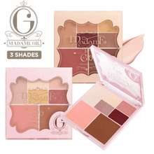 Madame Gie Madame To Go / Face Pallete / Make Up Travel Kit - NO 2 / Eyeshadow - Highligther - Blusher - Contour