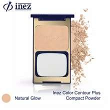 Inez Cosmetic BEDAK GLOWING TAHAN LAMA INEZ ( BEDAK PADAT INEZ)/ INEZ COSMETIK / BEDAK INEZ NO 01/ BEDAK / RZ COLLECTIONS (Natural glow)