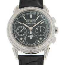 Patek Philippe Grand Complications Perpetual Chronograph Hand Wind Mens Watch 5271P 001