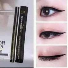 Nasa Eyeliner tahan air & matte (Ayla color stay eyeliner davina black )