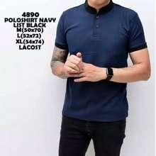 Polo Hm72 Baju Kaos Pria Lengan Pendek Kaos Cowok Cowo Kaos Kaos Distro Shirt Grey Hitam S Keren Branded Fashion Pria Slim Fit
