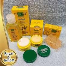 Temulawak Paket Lengkap Skincare Paket The Face Cream Lengkap 4in1 Original Asli 100% BPOM Paket Cream Krim Siang Malam Toner dan Sabun Skincare Wajah Glowing 1 Paket original BPOM Cream Pencerah Wajah Ampuh Paket Lengkap