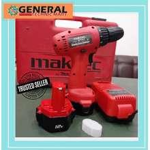 MAKTEC Obrall Cordless Bor Baterai Murah Mt063Sk2 Makita