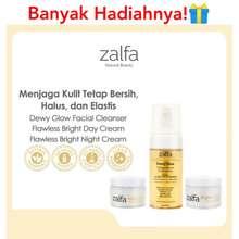 Zalfa Miracle Zalfa Natural Skincare Paket Dewy Glow Facial Cleanser + Day N Night Flawless