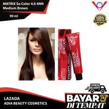 Matrix Cat Rambut Socolor 4.0 MEDIUM BROWN 90ml + oxydant 135ml (Tutup Uban) / semir rambut yang bagus / hair color / pewarna rambut permanen / pewarna rambut yang bagus / warna rambut yang bagus / semir rambut / warna rambut / cat rambut korea