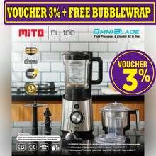 Mitochiba Mito Food Processor Bl100 Bl 100 Omni Blade Garansi Resmi