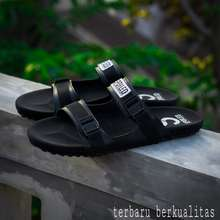Geoff Max Footwear promo !!! sandal flip flop pria sandal slip on 100% Original footwear distro bandung hitam dan coklat tan spl-AR009