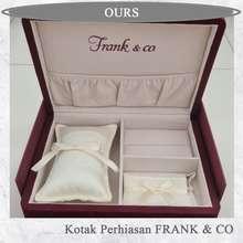 Frank & Co Kotak Perhiasan Frank N Co Set Khusus Seserahan Wedding + Hardbox Nya
