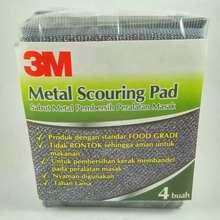 3M Metal Scouring Pad Hrg 1 Pcs 16 500 Pak Isi 4Pcs