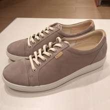 Ecco Soft F W Warm Grey Sneaker Shoes