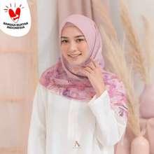 Sakura Nura Series Scarf Hijab Voal Ultrafine Lasercut Segi Empat