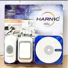 Bell Door Harnic Heles D-066K2 Listrik - Bel Pintu Wireless Dua Remote