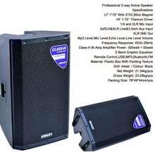 Ashley Speaker Aktif 15 Inch Act600Pro Act 600Pro Original