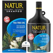 Natur Shampoo Tea Tree Oil Anti Ketombe 270Ml / Shampo / Hair Care / Anti Dandruff