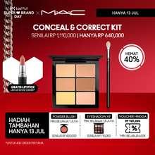 MAC Cosmetics uFxCnal+CrrPal-4Cnalrs+2Crrrs6gm-Cnalr (LIGHT)