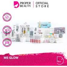 MS Glow Indonesia / Facial Wash Toner Serum Essence Eye Cream Clay Mask Masker Sunscreen Body Lotion Luminous Night Cream