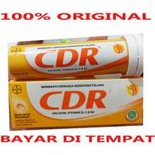 CDR CDR - KALSIUM - VITAMIN D - C - B6