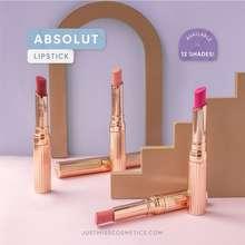 Just Miss Lipstik Matte Transferproof 2.5Gr Absolut #100 Lipstick Pigmented Perona Bibir Bpom Jus