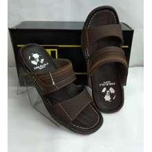 pakalolo Sandal Kulit Boots N2353 Brown Sendal Casual Pria Original