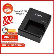 Canon Charger Lc-E17 Original For Baterai Lp-E17 Eos 800D 850D M5