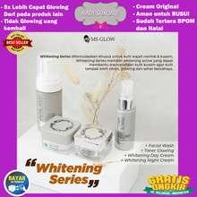 MS Glow Whitening Series 100% Original / Paket Whitening Series Untuk Perawatah Wajah / Whitening Series Asli / COD @NABIL SKINCARE
