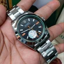 Rolex Jam Pria Merek Milgauss Automatic Clone Top Ls Quality