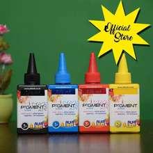 Alfa Tinta Printer Ink Pigment Ink 100Ml Epson Original Anti Pudar Kuning