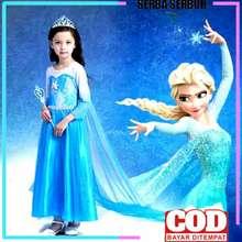 Gaun frozen anak usia 4 - 9 tahun | baju gaun frozen anak | baju gaun frozen anak perempuan | dress anak frozen 5 tahun | gaun anak frozen | gaun pesta anak frozen | dres frozen anak perempuan | baju frozen anak | KE67