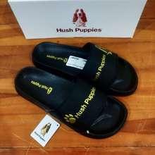 Hush Puppies SENDAL SELOP SLIP ON HUSH PUPPIES SANDAL SLIDE PRIA CASUAL - 39, GAMBAR 1