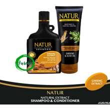 Natur Paket Perawatan Rambut Rontok (Shampoo & Condisioner) - 2pcs