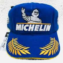 MICHELIN K&H headwear - topi biru terang penuh VR46 team 1 ring pria dan wanita