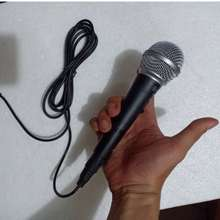 Aiwa Professional Mic Microphone Dynamic Mikrofon Kabel Original Jernih Bagus / Mic Meeting