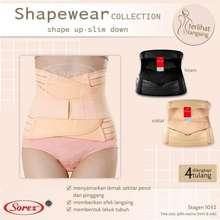 Sorex Baby Wang Fashion_ Stagen Korset Ibu Melahirkan 1052 / Korset Pelangsing perut wanita - Stagen Pasca Melahirkan (Int: One size, Multi Warna)