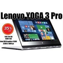 Lenovo Laptop Yoga 3 Pro 8 Gb M5Y70 Ssd 256 Penawaran Khusus