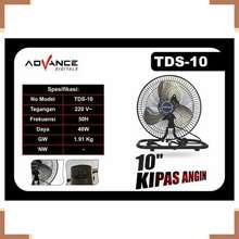 Advance Digitals Kipas Angin 3478 KIPAS ANGIN TDS-10 Kipas Angin KIPAS ANGIN