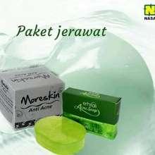 Moreskin Cosmetic Paket Jerawat Nasa Dan Erhsali Anti Acne Obat Jerawat Untuk Pria Dan Wanita