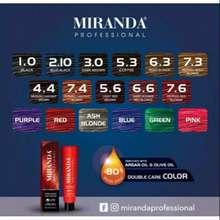 Miranda Miranda Professional Hair Color Cat Rambut 100Ml