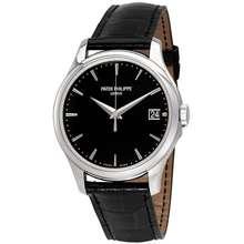 Patek Philippe Calatrava Automatic Black Dial Mens Watch 5227G 010