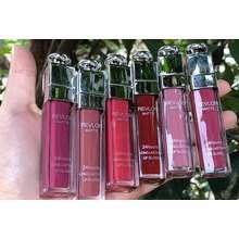 Revlon ( ISI 24 ) Lipstik tutup silver / Lipcream silver 3D matte / lipstick matte silver