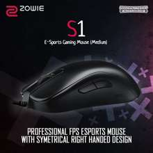 zowie S1 Gaming Mouse Putih