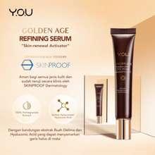 Y.O.U You Golden Age Energizing Eye Cream 15G [ Intense Eye Firming Treatment]