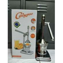 Calypso Perasan Jeruk Stainless / Alat Peras Jeruk Stainless / Mesin Pemeras Jeruk Manual Stainless