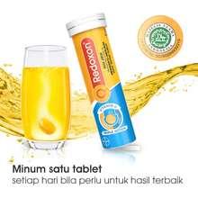 CDR CDR Vit C 1000 mg D & Zinc Rasa Jeruk TRIPLE ACTION EFFERVESCENT 10 tablet